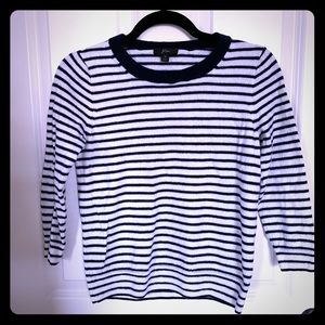 J Crew striped nautical sweater